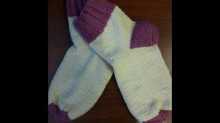 Вязание для начинающих. Носки