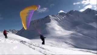 initiation au speed riding avec Chamonix parapente.