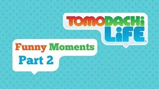 Tomodachi Life Funny Moments Part 2: Clotted Cream - Chocolate Milk Gamer