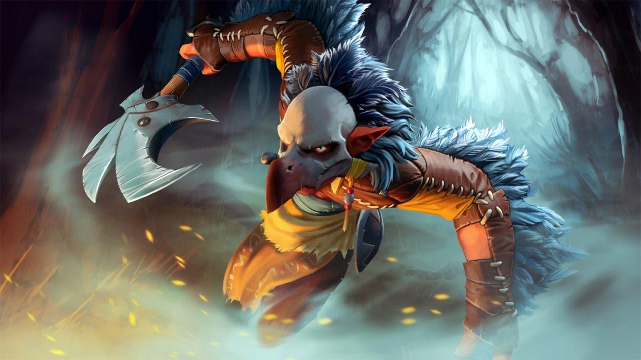 Dota 2: Raging Whirlwind - Troll Warlord Set - YouTube