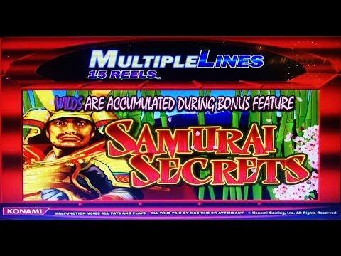 Samurai Secrets Slot Machine