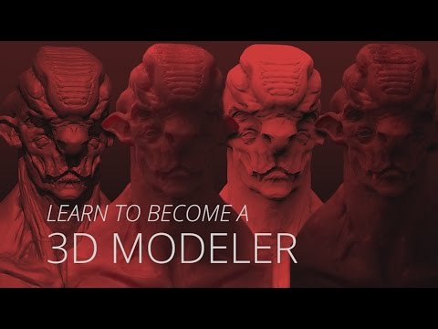 Learn to become a 3D Modeler