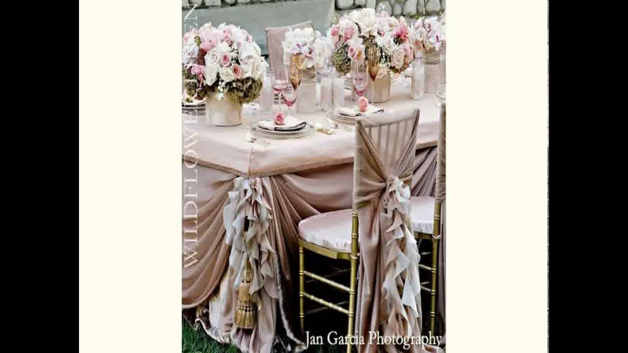 Beach wedding decoration ideas 2015 youtube junglespirit Gallery