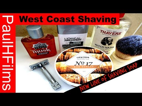 West Coast Shaving  -  No17  - Rum Runner (New Line of Soap)