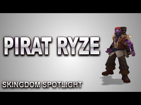Pirate Ryze Skin Spotlight | SKingdom - League of Legends