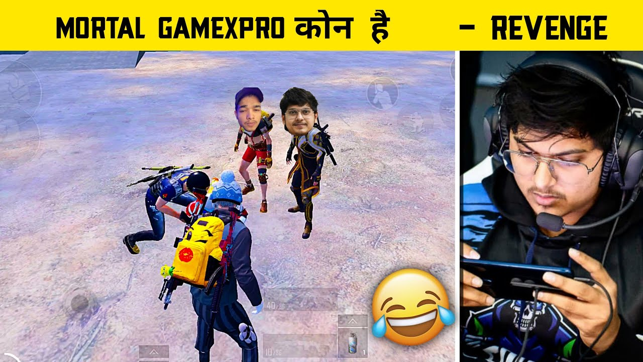 🔥They Don't Know Who Is Mortal Gamexpro Dynamo Really? - Funny Moment Pubg - Legend X
