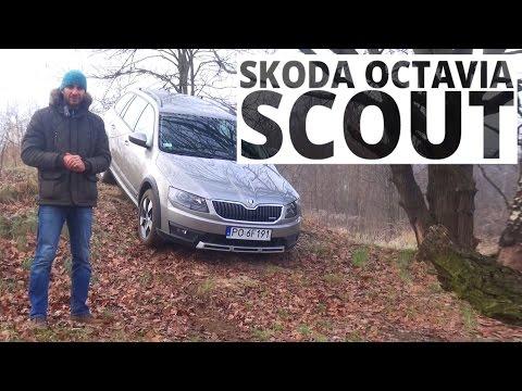 Skoda Octavia Scout 4X4 2.0 TDI 150 KM, 2015