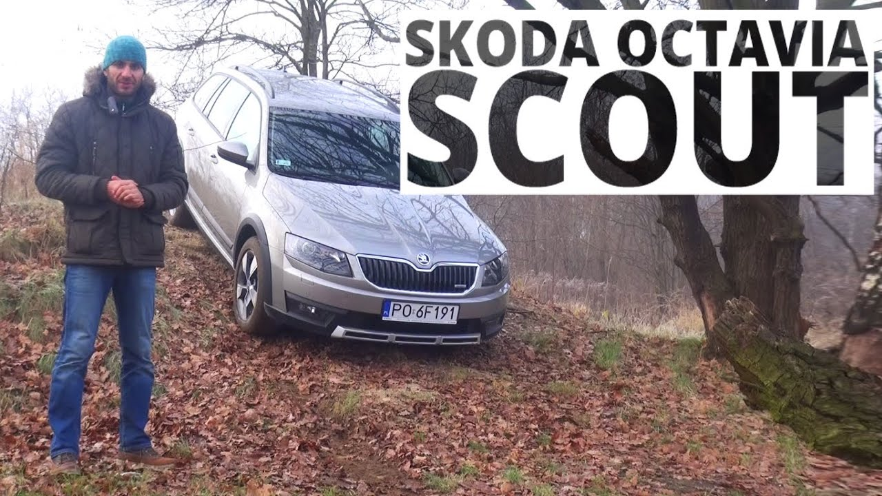 skoda octavia scout 4x4 2 0 tdi 150 km 2015 test 168 youtube. Black Bedroom Furniture Sets. Home Design Ideas