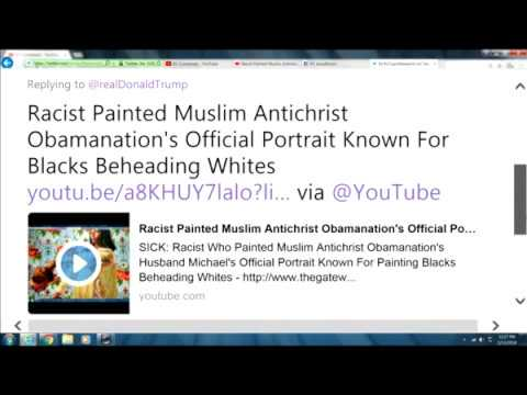 Trump Wants DACA While Muslim Antichrist Obamanation Wants a White Christian Genocide