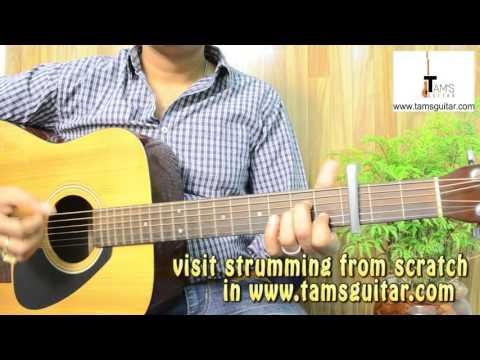 Baaton ko teri guitar lesson |Easy Arijit Singh song on guitar for beginners|www.tamsguitar.com