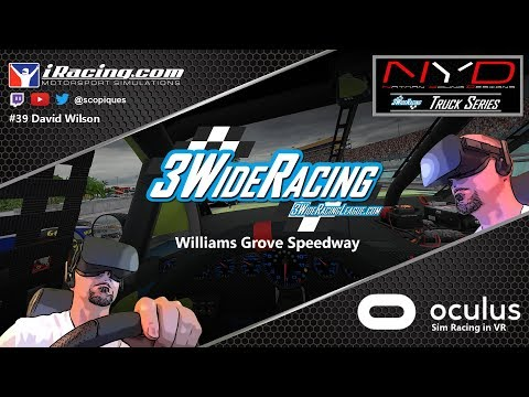 3 Wide Racing League - Williams Grove Speedway (August 19th 2018)