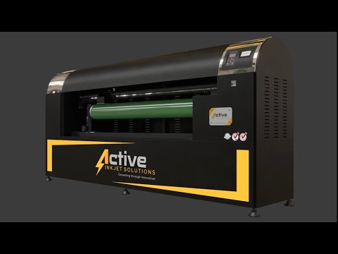 ACTIVE ROTARY SCREEN EXPOSING/ENGRAVING MACHINE. A 3D REPRESENTATION OF OUR PRODUCT.