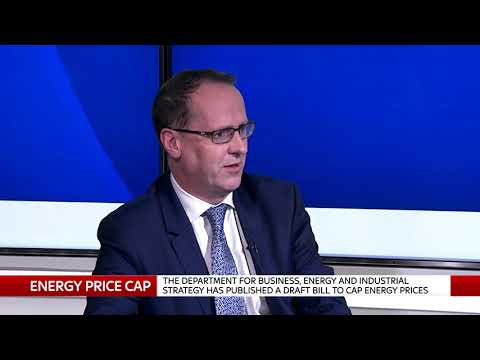 Scottish Power Chief Corporate Officer Keith Anderson on an energy price cap
