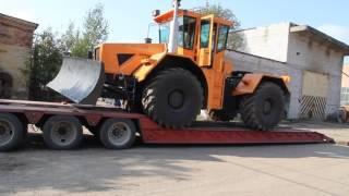 Перевозка тралом трактора К-704-4Р