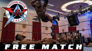 FREE MATCH - ACH vs. Fred Yehi   AAW Pro