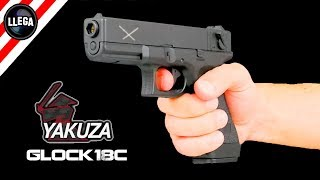 THE BEST AIRSOFT PISTOL GLOCK18 YAKUZA ELECTRIC GUN