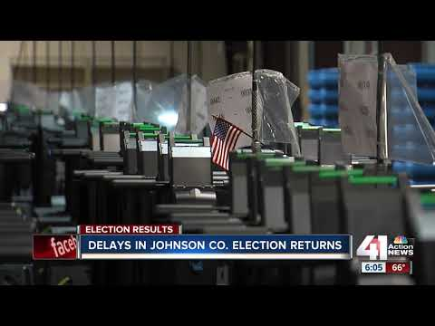 Officials cite 'slow reporting' for Johnson County vote delay
