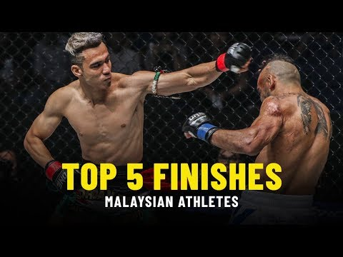 Top 5 Finishes | Malaysian Athletes | ONE Highlights