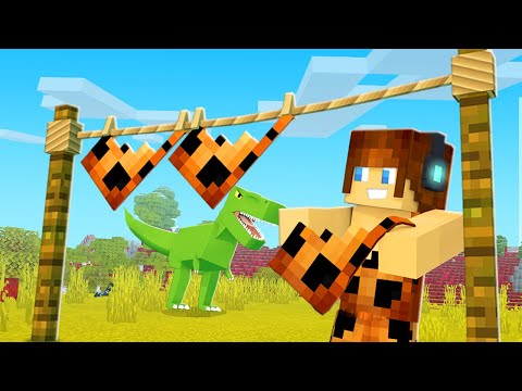 VARAL DE ROUPAS !! - Minecraft Dinossauros #03