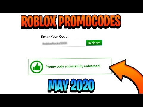 April 2019 Roblox Promo Codes May 2020 All Working Promo Codes In Roblox Youtube