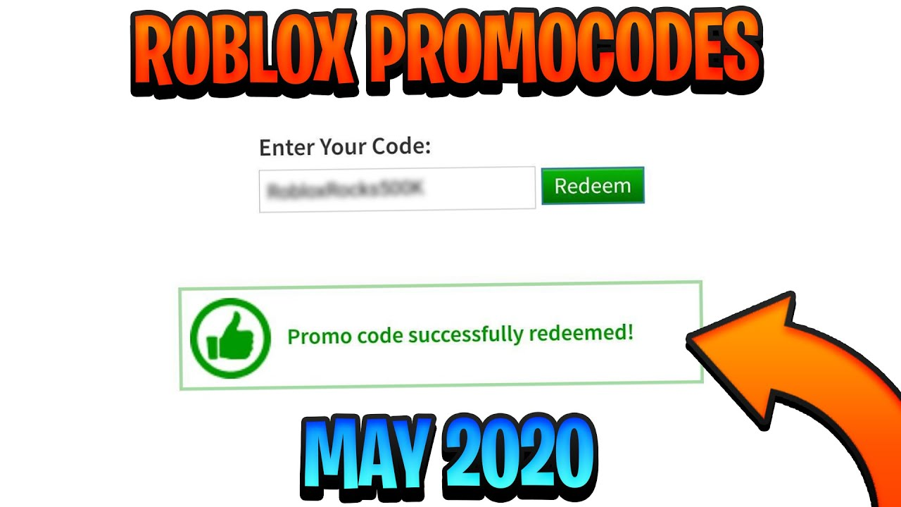 May 2020 All Working Promo Codes In Roblox Youtube