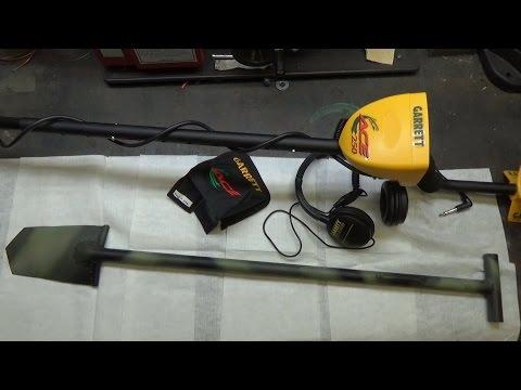 garrett ace 250 & homemade shovel