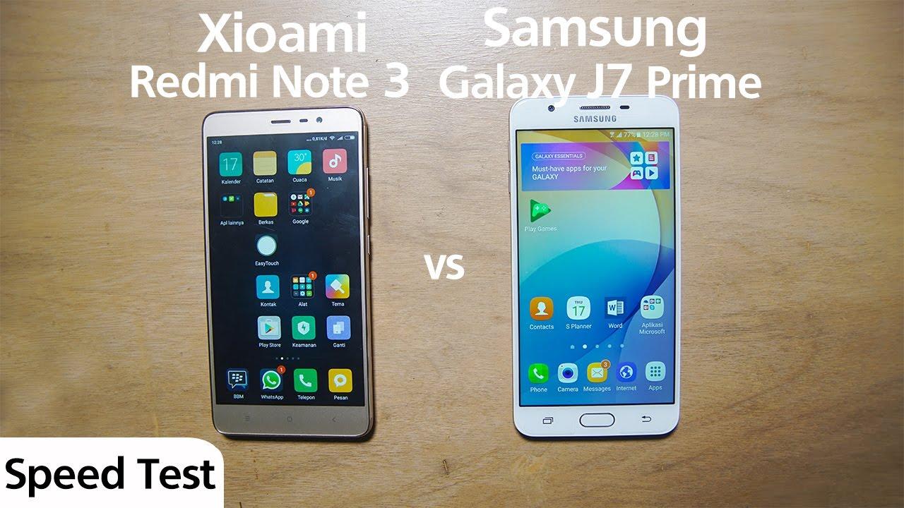 Samsung J7 Prime Vs Xiomi Redmi Note 3 Pro