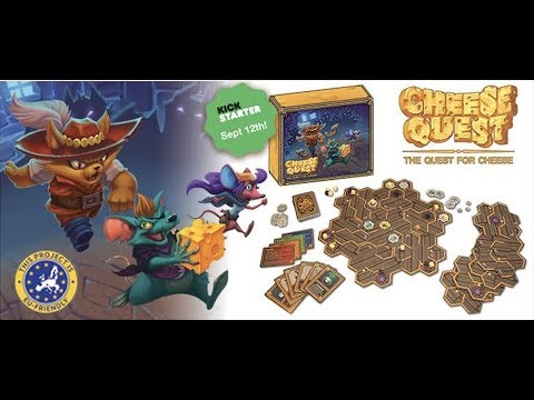 Cheese Quest - Kickstarter Board Game Spotlight
