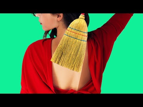 62 CLEVER HACKS FOR WOMEN - 동영상