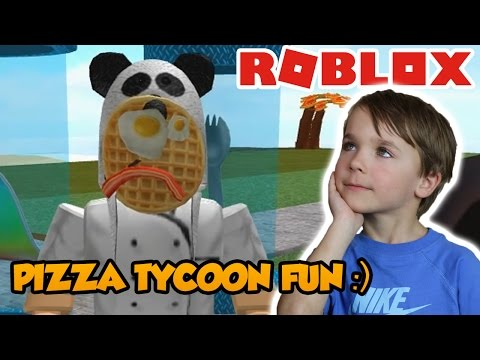 Having Fun in Roblox Pizza Factory Tycoon !