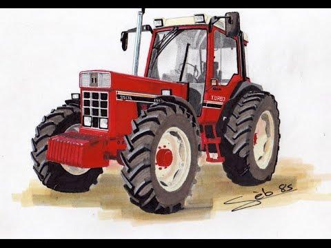 Pascal et son drone avec les tracteurs rouges youtube - Cars et les tracteurs ...