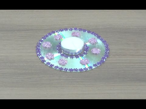 Diy diwali diya decoration floating diya simple steps for Diya decoration youtube