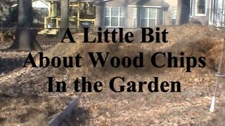 Organic Gardening:  A Little About Using Wood Mulch in the Garden