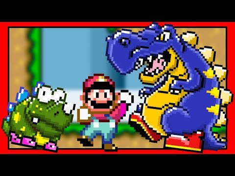 Super Mario World, but with more Dinosaurs! (Rom Hack) Part 2