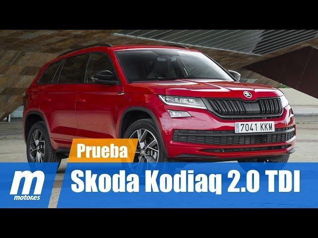Skoda Kodiaq 2.0 TDI 4x4 | Prueba / Testdrive / Review en Español HD