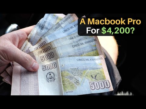 A MacBook Pro for $4,200?!  World's Most Expensive City