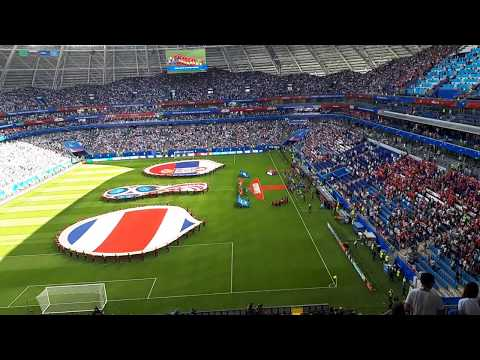 FIFA world cup 2018. National Anthems Costa-Rica and Serbia