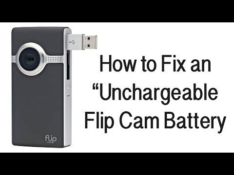 Flip Cam Battery Won't Charge (How To Fix)