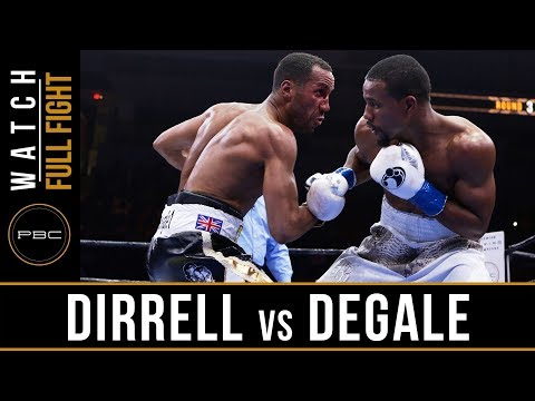 FULL FIGHT: James DeGale vs Andre Dirrell - 5/23/15 - PBC on NBC