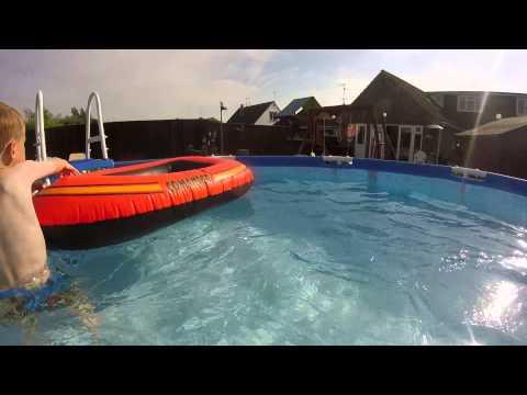 under da sea just kidding in my pool go pro youtube. Black Bedroom Furniture Sets. Home Design Ideas