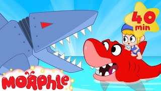 Mila vs Robot Sharks - My Magic Pet Morphle | Cartoons For Kids | Morphle TV | BRAND NEW
