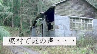 廃村に響く謎の声【富山県上市町 稲村】