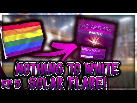 TRADING FROM NOTHING TO WHITE SOLAR FLARE! *EP5* | HOW TO MAKE INSANE PROFIT FROM HEATWAVES!