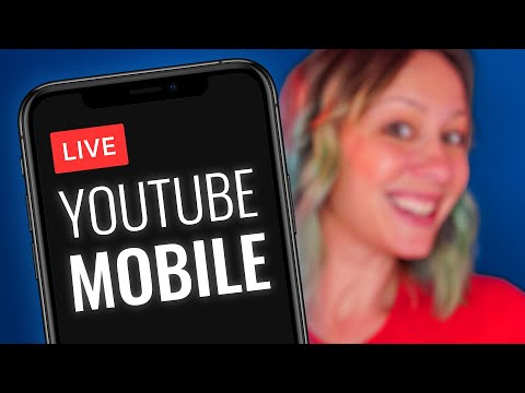How To Live Stream On YouTube From IPhone (or Android)!