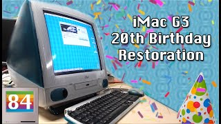 Mac84: Original Apple iMac 20th Birthday Restoration