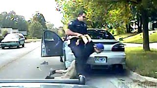Repeat youtube video Dashcam Shows Cop Tasering Teen Bryce Masters Into Coma