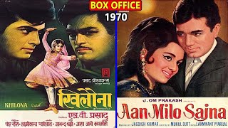 Khilona vs Aan Milo Sajna 1970 Movie Budget, Box Office Collection, Verdict and Facts