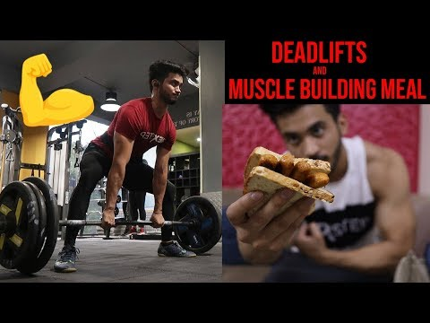How to do DEADLIFTS (Tutorial) | Muscle Building Meal | thumbnail