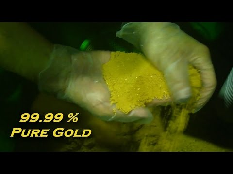 How to Refine Precious Metals - Precipitation:   Hydrometallurgy Part 3