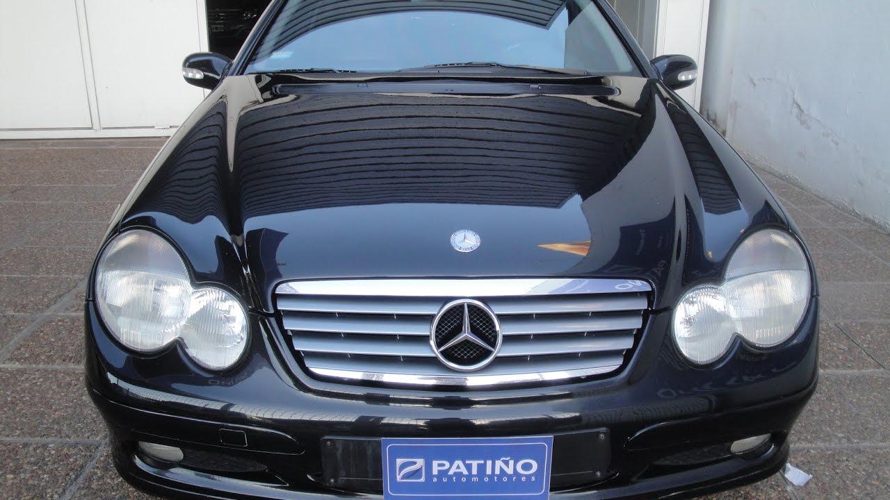 Mercedes Benz C 200 Kompressor Sport Coupe Evolution 2001 Youtube
